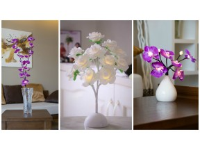 Bright Baum LED Flowers