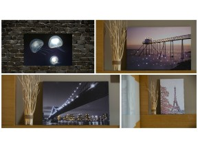 Bright Baum LED Paintings