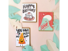Letterpress cards by Hello Lucky