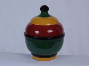 Traditional Lacquered Decorative Item