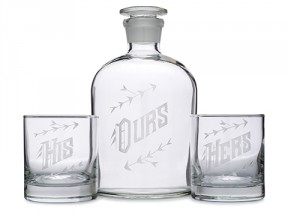 Ours Decanter Set