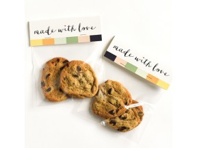 Made with Love Treat Bag Kit : Set of 10