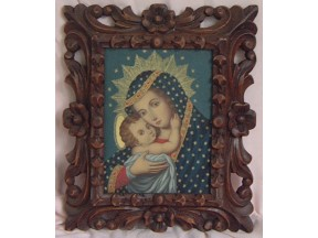 Mary and Child Framed