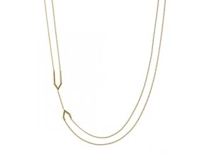 Milano double chain necklace