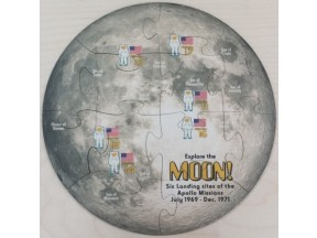 12 piece Moon Jigsaw Puzzle