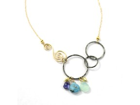 Joyful Swirl Necklace