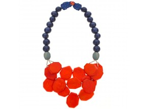 Nevado Necklace in Tangerine