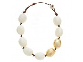 LA PERLA BLANCA NECKLACE