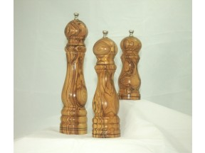 Classic Design Olivewood Peppermills