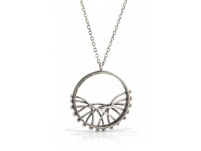Crescent Arc Necklace