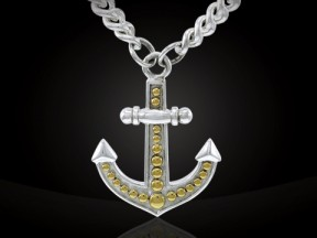 Anchor Necklace MNC380