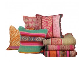 Vintage Heirloom Pillows and Rugs