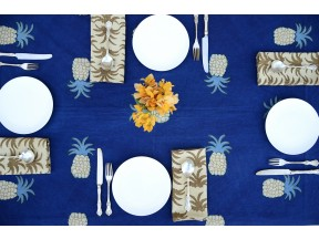 Block Printed Table Linen