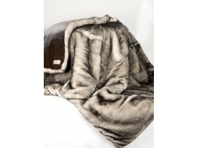 ADRI Collection rex solid front throw