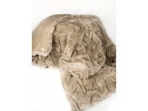 ADRI Collection rex pleated throw
