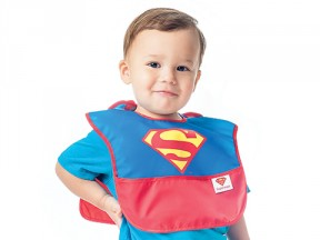 DC Comics SuperBib with Cape