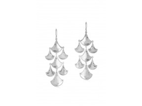 Sterling Silver Kimaya Graduated Chandelier Earring