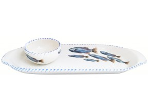 New Oval Plates and Mini Dipping Bowls