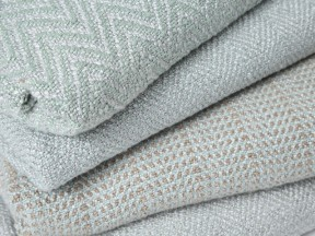 Silver Sage Bamboo Throws