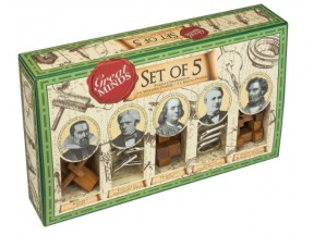 Set of 5 Great Mind's Puzzles