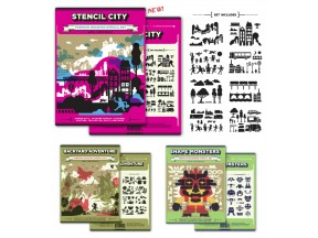 Stencil City - Premium Drawing Stencils
