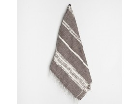 Reverse Stripes Hand Towel