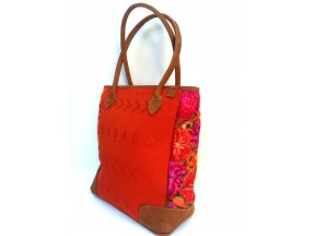 Antigua Orange Tote Bag TBA13