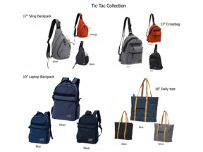Tic-Tac Fabric bags collection