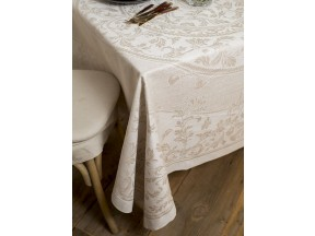 Vienna Natural Tablecloth