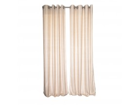 Viscose curtain panel