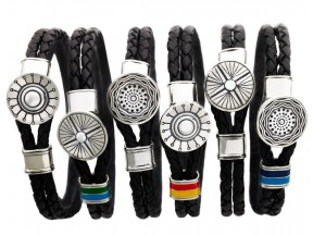 Wanderlust Sterling Silver & Leather Bracelets Collection