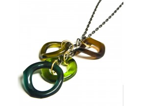 Upcycled Wine Bottle Necklace
