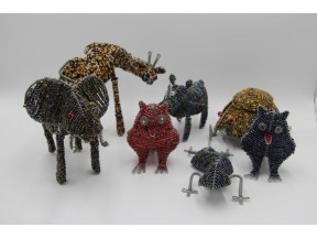 Hand Beaded Animal accents