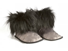 Pantuss short booties slippers