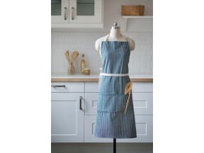 Organic Stripe Cotton Apron