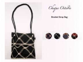 Ayoreo traditional bag with braids