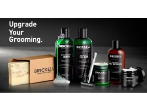 Brickell Natural Men's Grooming- Face & Body