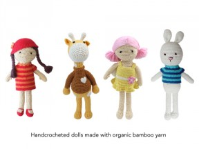 Handcrocheted Dolls
