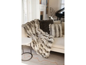 Truffle Couture Faux Fur Throw