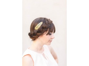 Simple Goddess Gold Leaf Comb