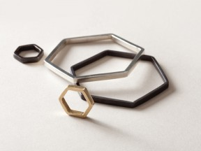 Hexagon Bangles and Rings