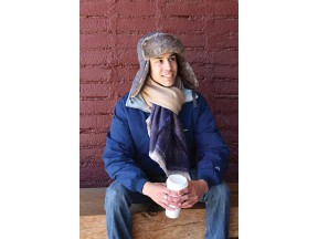 Trapper and Blended Two Tone Scarf