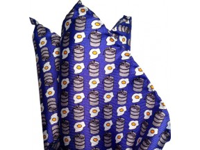 Kegs and Eggs Pocket Square