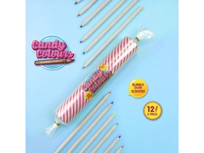 Candy Colors - Bubble Gum Scented Pencils!