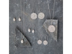 Crocheted Silver Jewelry