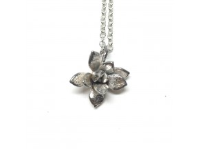 succulent necklace: small floral
