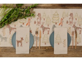 Forest Glow Table Runner and Tea Towels