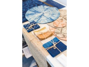 Natural Hand-Dye Placemats & Coasters