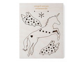 Flying Unicorn Ornament Kit