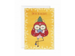 Greeting card 'Om for the holidays'